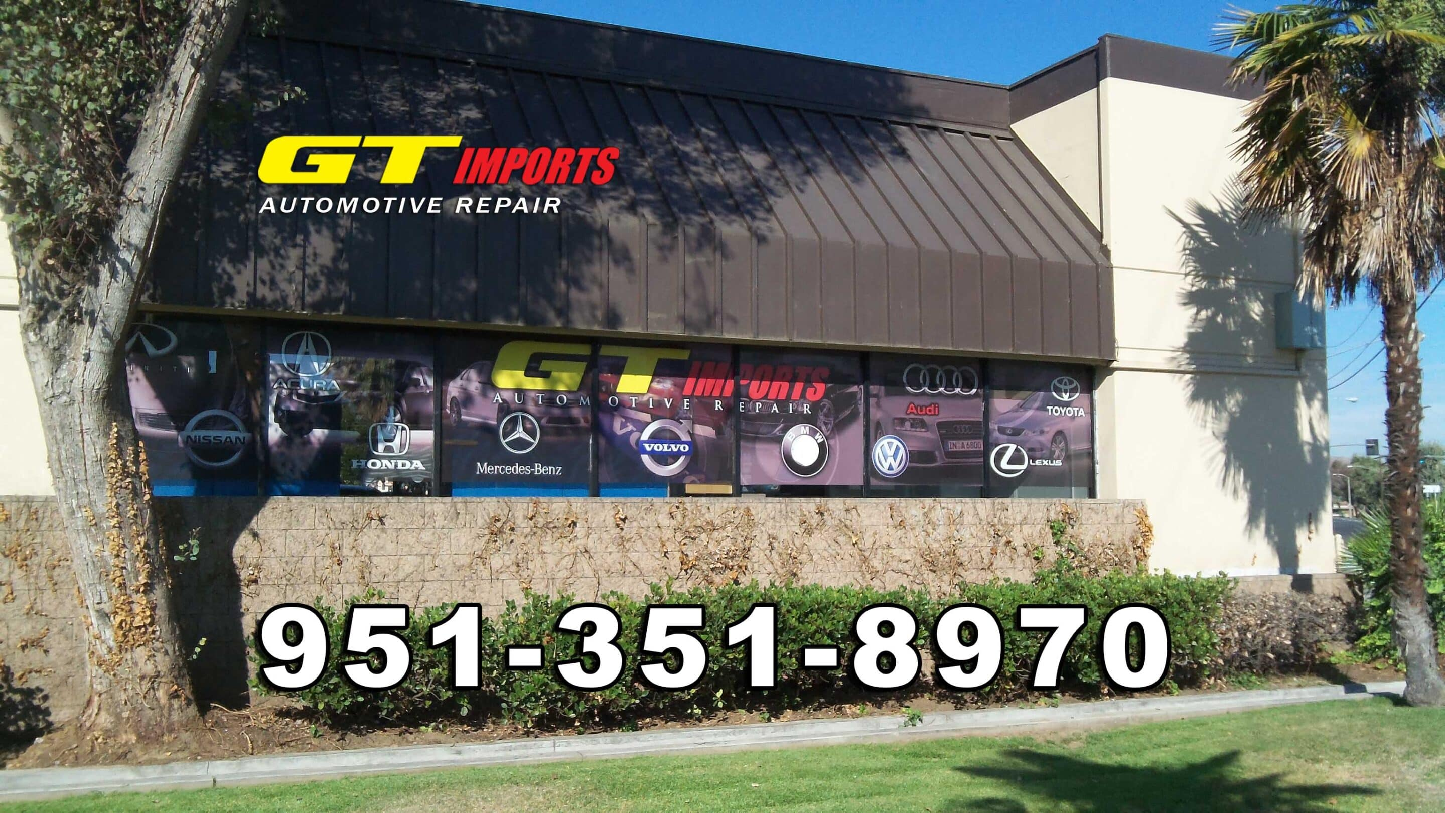 GT Imports Automotive Repair 10180 Hole Ave. Suite 100 Riverside, CA United States United States 951-351-8970 gt.imports@yahoo.com http://gtimportsautorepair.com https://plus.google.com/114692871332763007567/about